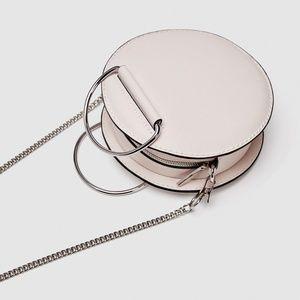 Zara Oval Mini Crossbody Bag